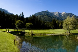 Die 9-Loch-Anlage zählt zu den schönsten in Österreich